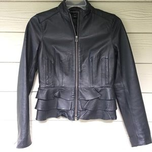 Bagatelle Leather Jacket Blazer XS Gorgeous